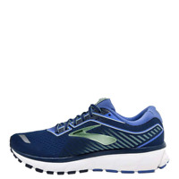 Brooks Ghost 12 Women's Running Shoes Blue Breathable Run Sneakers - 1203051D413