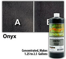 Concrete Resurrection Water Based Decorative Concrete Stain - Onyx