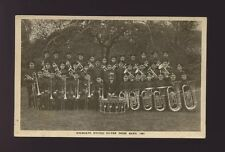 SALVATION ARMY Highgate music United Silver Prize Band 1921 unused RP PPC