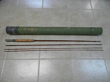 Old Vintage 9' Heddon #10 Bamboo Fly Fishing Rod w/Case