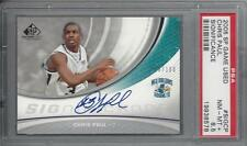 CHRIS PAUL 2005 SP GAME USED SIGNIFICANCE ON CARD AUTO RC #D /100 PSA 8.5 POP 1
