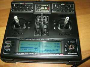 Graupner Sender MC 22 s 35 Mhz synthesizer mit Akku ( D, GB, I, Fr Menue)