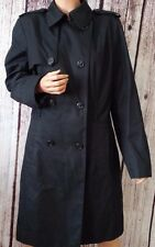 Banana Republic Coat Double Breasted Short Trench Women's Size L Large