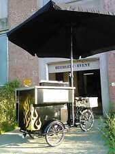 Hot dog fahrrad, Grillfahrrad, Verkaufswagen NEU Food2