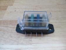 VINTAGE OLD DASH PANEL FOUR COMPACT ATC FUSE BOX HEATER  BOAT HOT RAT ROD SCTA