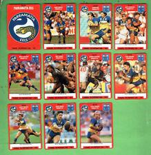 1991 STIMOROL RUGBY LEAGUE CARDS - PARRAMATTA EELS