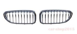 Front Grille Performance All Chrome For BMW M6 2012-2016 F06 F12 F13 650i