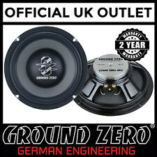 "Ground Zero Radioactive GZMW 200-NEO 8"" 20cm 320 Watts Mid & Kickwoofer Speaker"