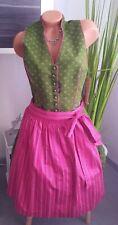 Spieth & Wensky 4tlg. Dirndl Trachtenkleid Gr. 40 42 grün pink