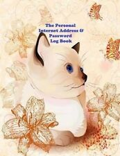The Personal Internet Address and Password Log Book: A Large Print Web Address & Password Book by Ciparum LLC (Paperback / softback, 2015)