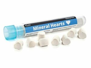 GLASGARTEN MINERAL HEARTS Natural Shrimp Food Supplement Red Cherry Crystal Bee