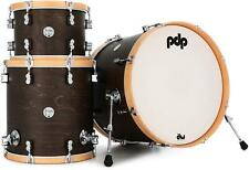 """PDP Concept Maple Classic 3-piece Shell Pack -22"""" Kick - Walnut with Natural"""