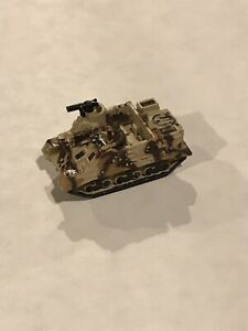 Micro Machines Military Die Cast Tan Camouflage Tank