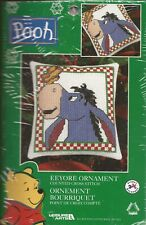 """Disney Counted Cross Stitch Kit """"Eeyore Ornament"""" 4 in x 4.5 in - NEW!"""