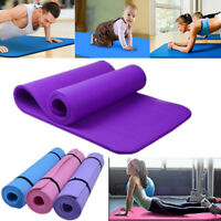 6-10mm Non-slip Yoga Mat Health Lose Weight Fitness Durable Thick Exercise Pad