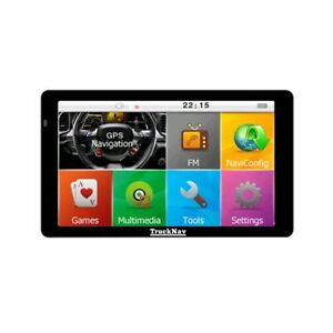 """M8 with 2021 Map's 7""""Truck Sat Nav Capacities Touch Screen  Back Up Program"""