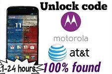 Unlock code At&t Motorola Moto Z2 Moto X E 2nd Moto G4 plus G5 impide