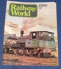 RAILWAY WORLD NOVEMBER 1977 - THE GREAT NORTHERN ROUTE TO CAMBRIDGE