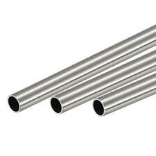 304 Stainless Steel Round Tube 12mm Od 1mm Wall Thickness 300mm Length 3 Pcs