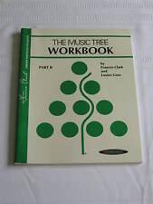 The Music Tree Workbook Part B Music Book Clark Goss Piano 0874879515