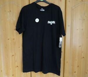Mens T-shirt Short Sleeve Top Tee Sport Graphic Summer ECKO Unltd BNWT Black