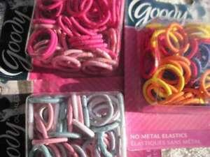 50 Goody Girls Small No Metal Ouchless Hair Band Elastics 2013 Ponytail Holders