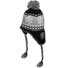 NFL '47 Brand Oakland Raiders  One Size Black/Silver Abomination Knit Beanie