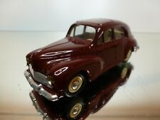 ELIGOR - PEUGEOT 203 (1954) - RED 1:43 - EXCELLENT CONDITION - 2