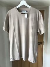 Topman Beige T Shirt Size M New With Tags