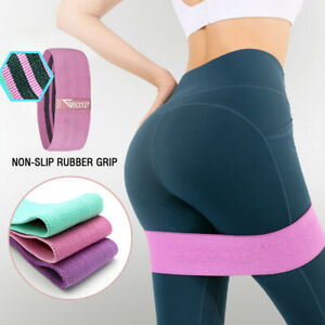 Gym Mate Ultra High Resistance Bands Set Workout Booty Bands Non-Slip Booty Band