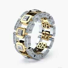 Machenical Rings For Men Gold And Silver