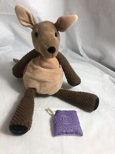 Retired Scentsy Kenzie the Kangaroo Buddy Stuffed Animal Plush + Grape Scent Pak