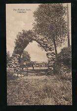 Wales Mon CAERLEON Roman Arch c1920/30s? PPC