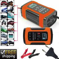 Chargeur de Batterie Voiture Rapide Smart Indicateur Pour Auto/Moto 5-6A/12v FR