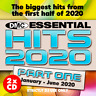 Essential Hits 2020 Part 1 Mid Year Chart Music DJ CD Double Issue