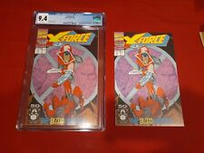 X-Force #2 - 2nd Appearance of Deadpool CGC 9.4 NM Reader Copy