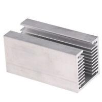 Aluminum Heatsink Radiator U Slotted HeatSink Cooling Cooler 40x40x80mm