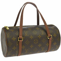 LOUIS VUITTON PAPILLON 26 HAND BAG PURSE MONOGRAM CANVAS M51366 NO0939 AK38381f