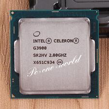 100% OK SR2HV Celeron G3900 2.8 GHz Dual-Core Processor CPU LGA 1151