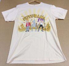 Futurama Gang caracteres pantalla Impreso Camiseta-Para Hombres Talla Grande
