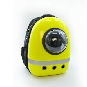 1Pc Pet Travel Space Capsule Convenient Cat Carrier Breathable Puppy Backpack