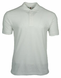Fruit of the Loom Heavy Poloshirt Premium Polo 100% Baumwolle Shirt M L XL XXL
