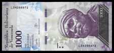 World Paper Money - Venezuela 1000 Bolivares 2017 Series L8 @ Unc