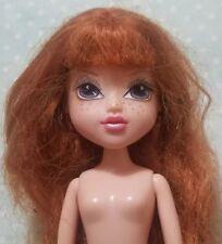 MOXIE GIRLZ DOLL KELLEN NUDE RED AUBURN HAIR GLITTER MAKEUP NO FEET GIRLS