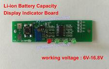 2~4S Packs 7.4V 11.1V 12V 14.8V Li-ion Battery Capacity Display Indicator Board