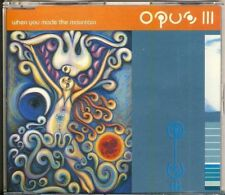 OPUS III - when you made the mountain 6 trk MAXI CD 1994 PWL