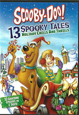 13 Spooky Tales Holiday Chills & Spills 2-DVD Set *New & SEALED* Reg 2 Scooby Do