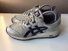 ASICS ladies silver/purple trainers EU size 38