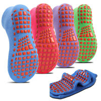 4 Pairs Non-slip Indoor Trampoline Socks, Sticky Grip floor Anti-Skid Socks kids