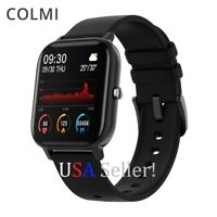 P8 Colmi Smart Watch Bluetooth Heart Rate Blood Pressure Monitor Fitness USA